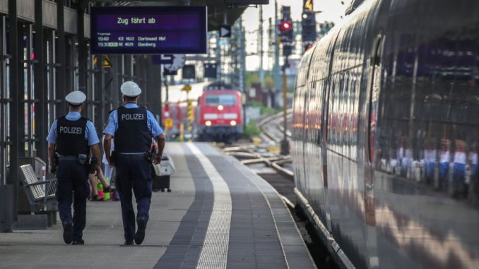 security at stations in Germany will be increased