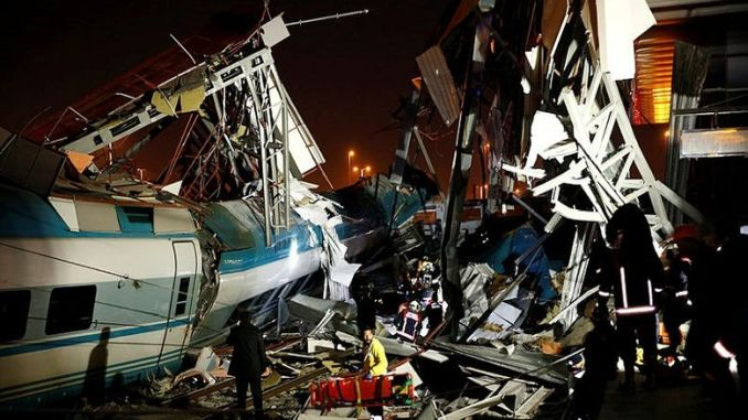 ankara train accident testified at the top level manager