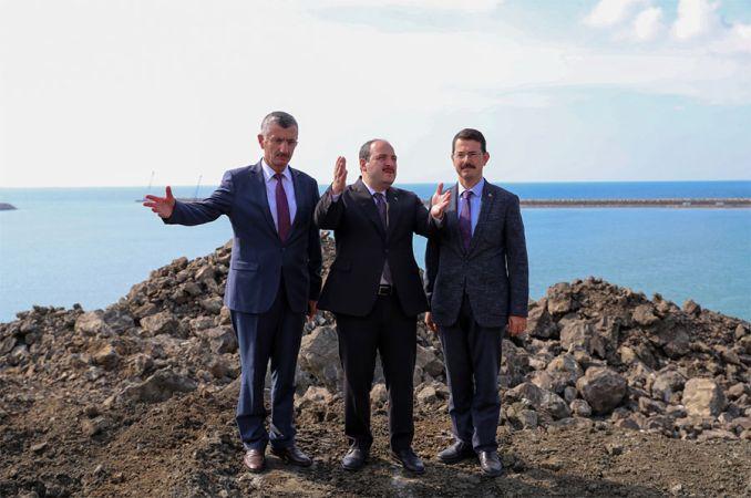 Minister Varank Filyos gennemgik Industriens Havn