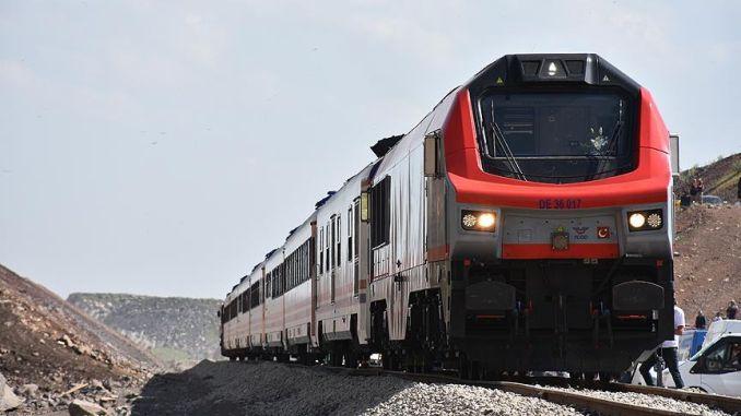 baku tiflis kars railway line