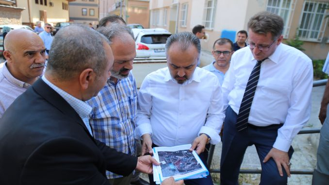 bursa emir sultanda car park accelerated