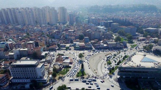 bursa urban square traffic rail setting