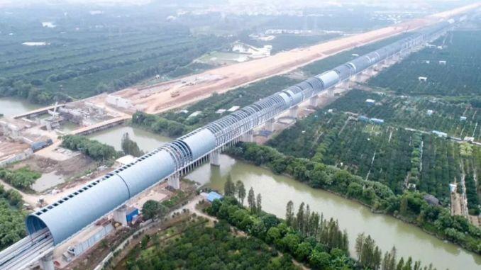 Çin, Kuşların Tren Gürültüsünden Etkilenmemesi İçin Ses Bariyeri Kurdu
