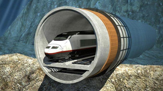Кинеските компании ќе градат подморница железнички тунел во Талин, Хелсинки