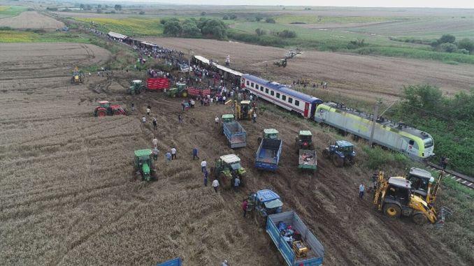 Започва случай с катастрофата на влак Corluda