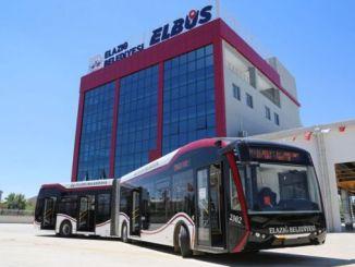 昨年Elazığでサービスを開始したELBUSが世話をされました