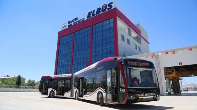 ELBUS, която бе пусната в експлоатация миналата година в Elazığ, беше погрижена