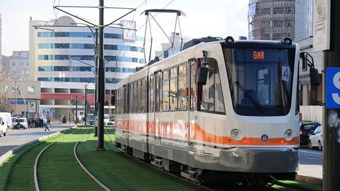 raise public transport in gaziantep