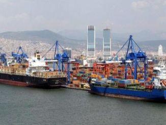 diminution des exportations et des importations à izmir en juin