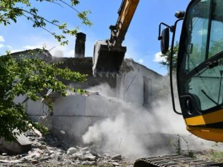 demolition of tcdd lodging started