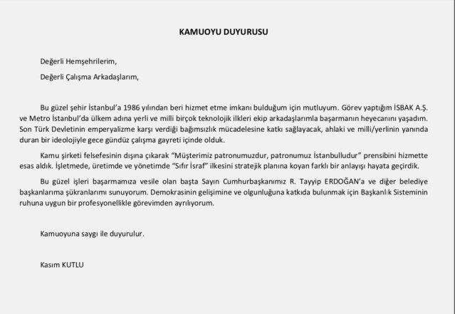 pismo o ostavci