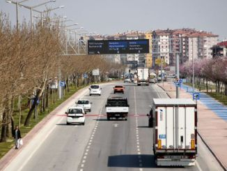 konya ukomeden speed limit regulation for buses and trucks