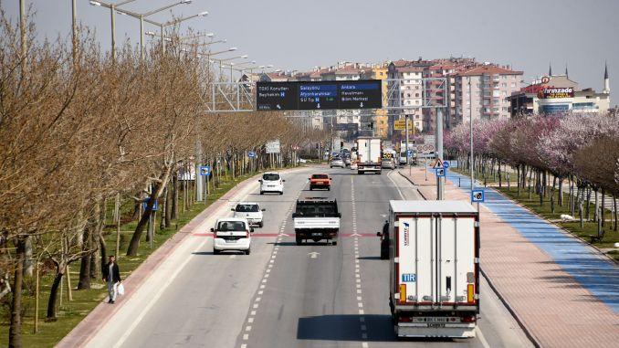 konya ukomeden speed limit regulation for buses and trucks