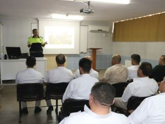pedestrian training for sofor and patriots in konya