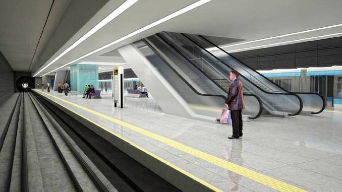 mersin metro waiting for approval from the presidency
