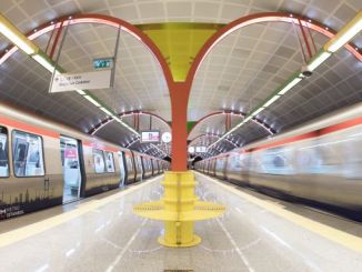 One of the biggest enterprises Istanbul subway turkiyenin