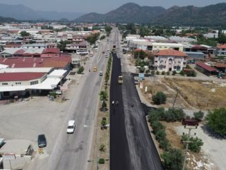 mugla approached the number of km in large road works