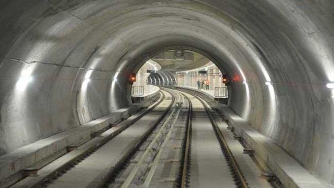 neovlaštena revizija izgradnje podzemne željeznice