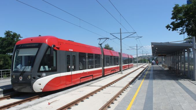 omu campus tram starts on friday