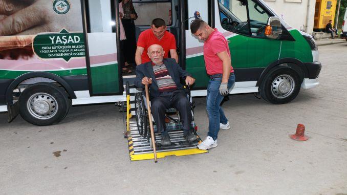 è apprezzato il servizio di trasporto mobile nell'esercito