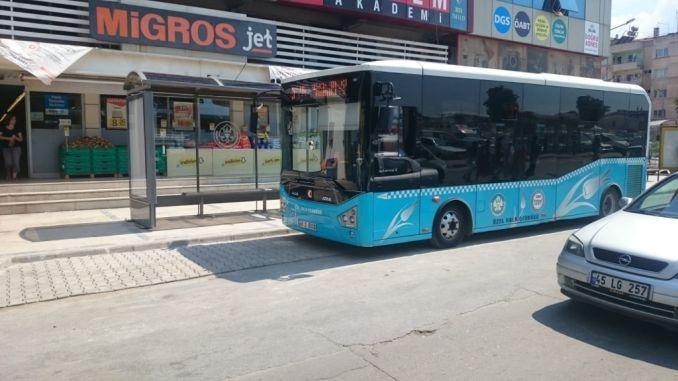 Salihliye uus buss peatub