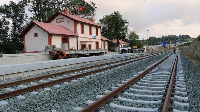 Samsun Sivas (Kalın) Demiryolu Hattı Yenilendi | RayHaber | RaillyNews
