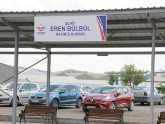 martyr eren bulbul was given the name of the bus stop