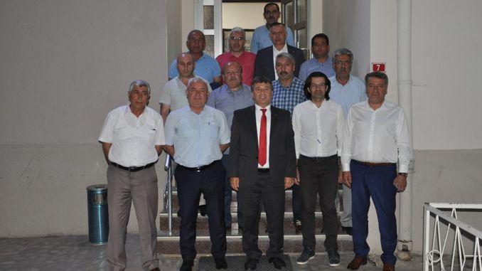 održan je sastanak upravnog odbora kluba sivas demirspor