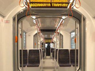 temesvarin tramvay araclarini bozankaya uretecek