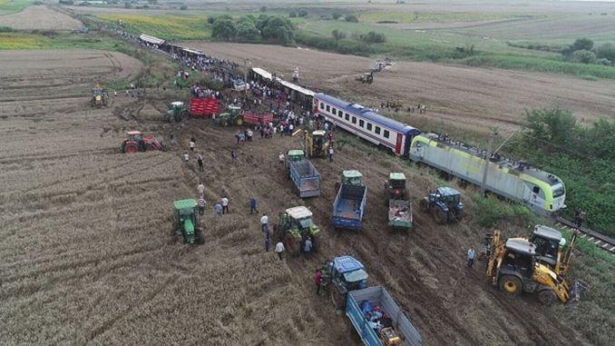 tmmob corlu chcemy zostać ukarani w sposób, w jaki zasługują w wypadku kolejowym
