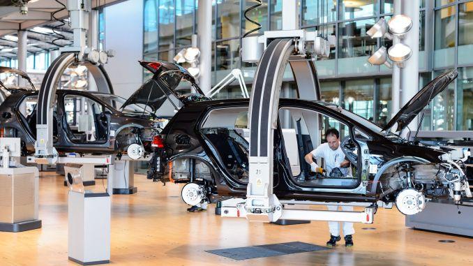 volkswagen neue Fabrik auf der Sekt von turkiyede