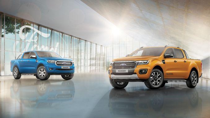 neue ford ranger und ranger raptor challenge standards