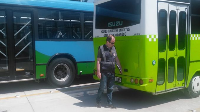 bus driver who does not comply with the penalty