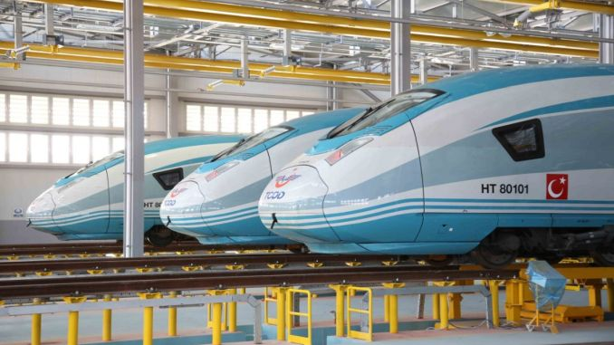 new high-speed train set coming