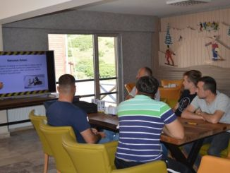 cambasi plateau ski resort employees training