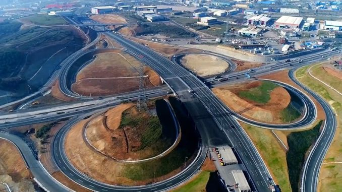 the state could not pay for the north marmara motorway will close the highway