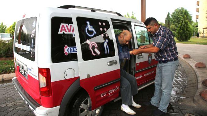 puuetega inimestele lihtsam juurdepääs Eskisehiris