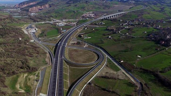 gebze orhangazi izmir motorway balikesir හන්දිය සහ අකිසාර් හන්දිය