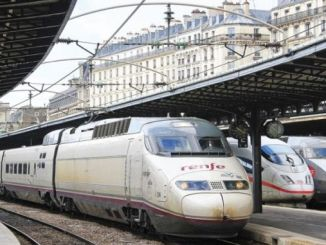railway workers go on strike in spain