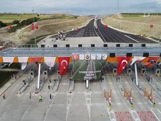 istanbul izmir arasi mega otoyol projesi ile artik saat