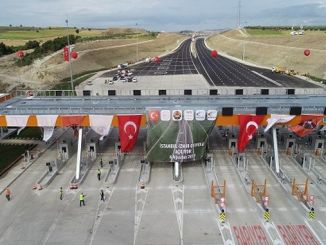 mega highway project between istanbul and izmir