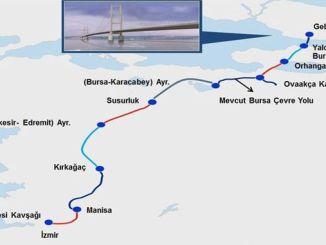 Istanbul Izmir Autobahn Karte