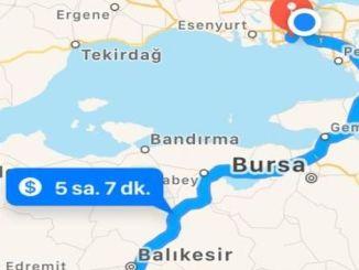 istanbul izmir жаңа тас жол тесті