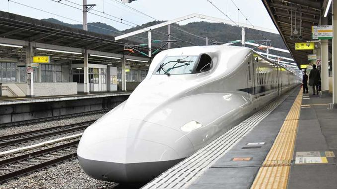 Japan, togdøren til timens hastighed åben ekspedition
