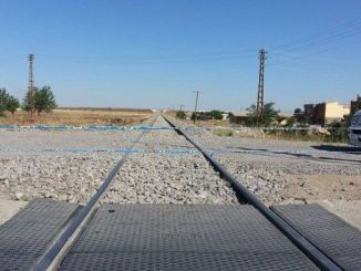 unblocking level crossing with electrical automatic barrier tender result