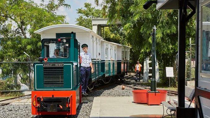 nostalgic boat and train