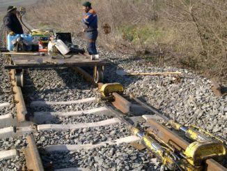 machine butt welding and aluminothermite rail welding