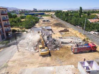 alternativní silniční práce pro provoz v Malatyi pokračuje