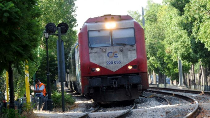 Treni ya Expedition ya Thesaloniki Dedeagac Mandalara Carpti