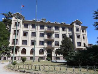 L'edifici històric de tcdd a Ankara no es ven